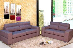 Σαλόνι με 2θέσιο και 3θέσιο καναπέ Σαλόνια Έπιπλο Καπατζά
