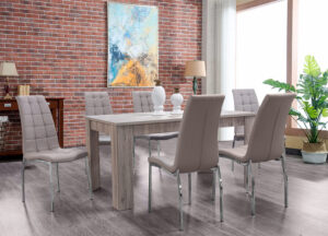 Σετ τραπεζαρίας με έξι καρέκλες