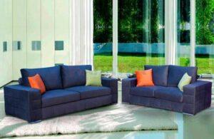 Σετ σαλονιού 2θέσιος και 3θέσιος καναπές