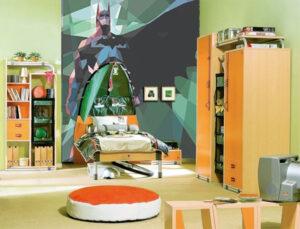 Σετ παιδικού δωματίου – Κρεβάτι commando αντίσκηνο και 3φυλλη ντουλάπα.