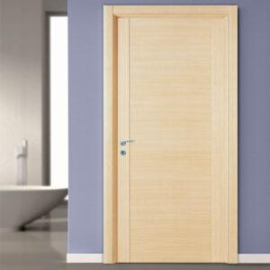Εσωτερική Πόρτα Ταμπλαδωτή σε Ανοιχτό Δρυ