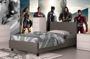 Ημίδιπλο Κρεβάτι με Ορθοπαιδικές Τάβλες