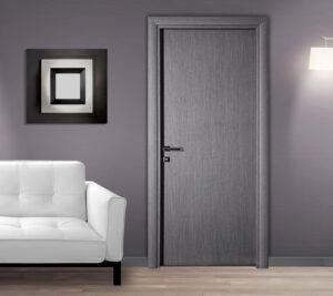 Πόρτα Εσωτερική σε Γκρι Χρώμα