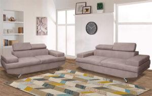 Σετ σαλονιού διθέσιος και τριθέσιος καναπές Έπιπλο Καπατζά