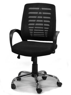 Καρέκλα γραφείου με inox πόδια