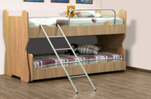 Παιδική κουκέτα με συρόμενο κρεβάτι