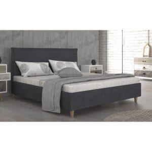 Διπλό κρεβάτι επενδυμένο