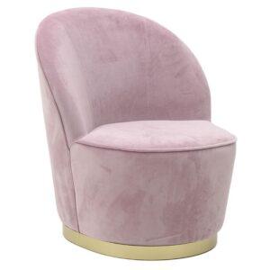 Πολυθρόνα βελούδινη σε διάφορα χρώματα