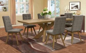 Τραπέζι με 6 καρέκλες σετ