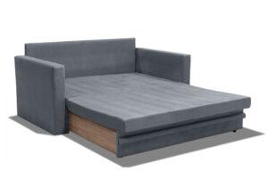 Διθέσιος καναπές με συρόμενο μηχανισμό κρεβατιού
