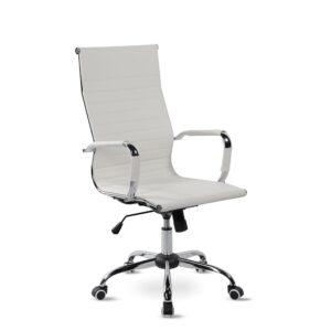 Κάθισμα γραφείου με βάση χρωμίου